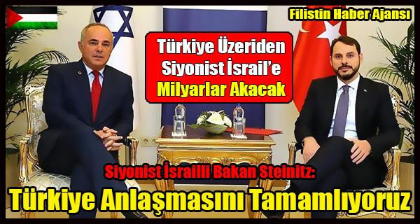 Siyonist Israilli Bakan- Bu Yaza Turkiye Ile Anlasmayi Tamamlayacagiz