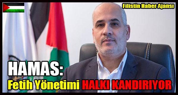 Hamas- Fetih Yonetimi HALKI KANDIRIYOR