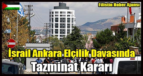 Israil Ankara Elcilik Davasinda Tazminat Karari