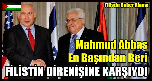Mahmud Abbas En Basindan Beri FILISTIN DIRENISINE KARSIYDI
