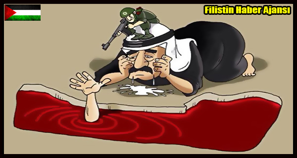 KARIKATUR- Satilmis ARAP Yoneticilerin GAZZE-ISRAIL Pozisyonu