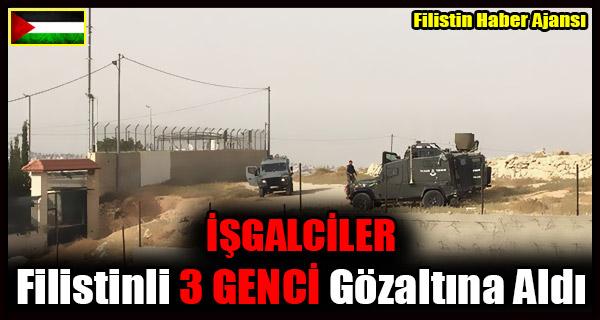 ISGALCILER Filistinli 3 GENCI Gozaltina Aldi