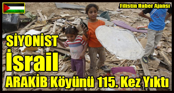 SIYONIST Israil ARAKIB Koyu 115