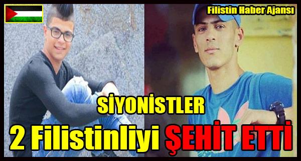 SIYONISTLER 2 Filistinliyi SEHIT ETTI