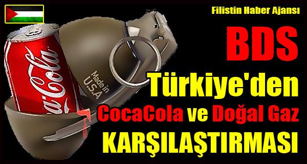 BDS Turkiye'den CocaCola - Dogal Gaz BENZETMESI