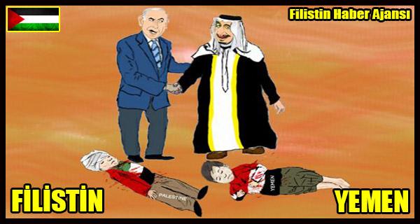 KARIKATUR- Israil ve Suudi Arabistan'in Insanliga 'HIZMETI!'