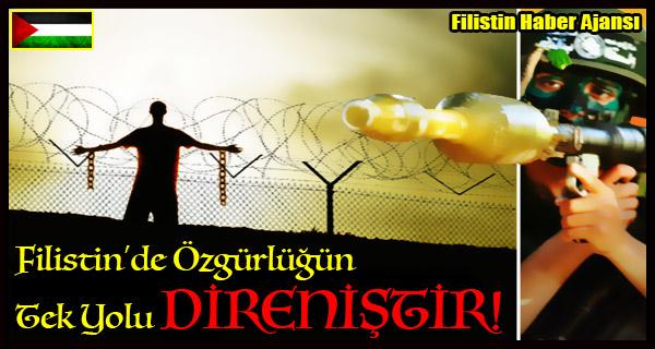 TASARIM- Filistin Ozgurlugun Tek Yolu DIRENISTIR!