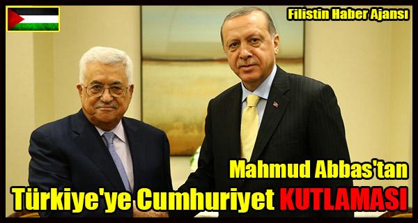 ABBAS'tan Turkiye'ye Cumhuriyet KUTLAMASI