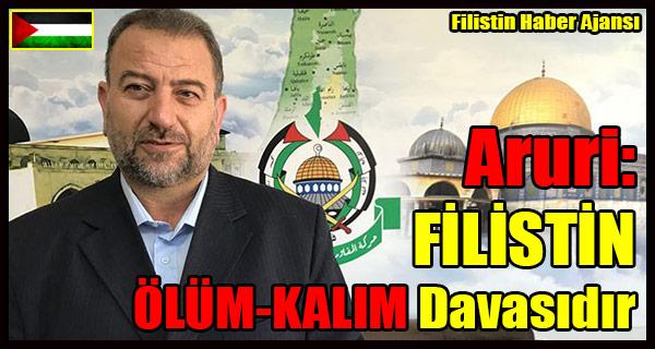 Aruri- FILISTIN OLUM-KALIM Davasidir