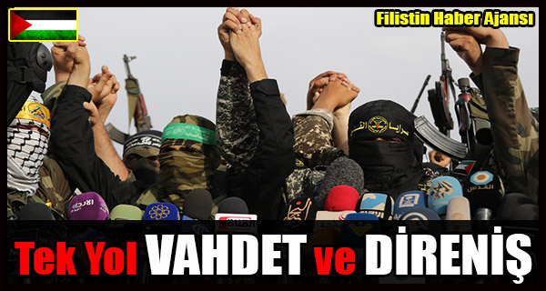 HAMAS- Vahdet ve Direnisten Baska YOL YOK!