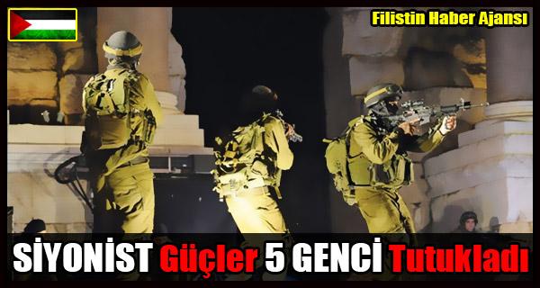 SIYONIST Gucler 5 GENCI Tutukladi